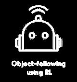 Object-following using RL