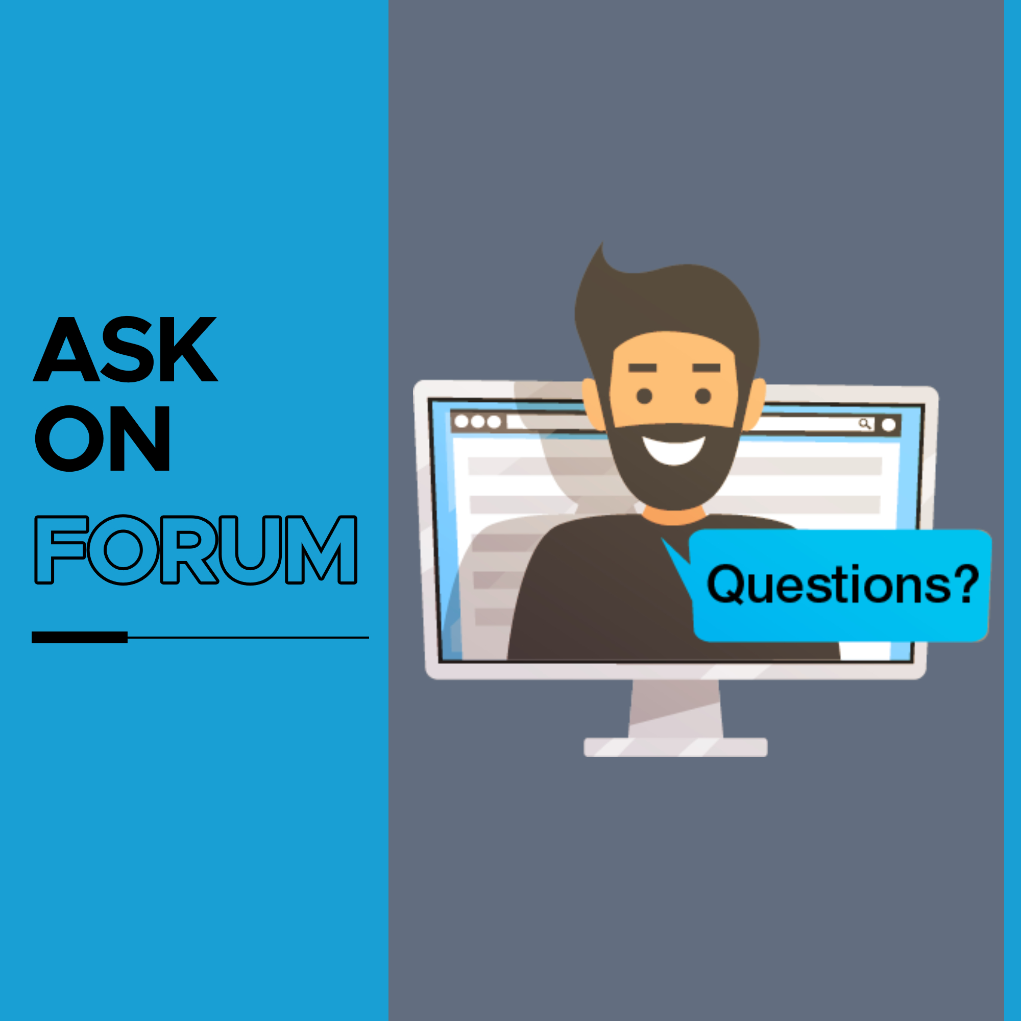 Ask on Forum