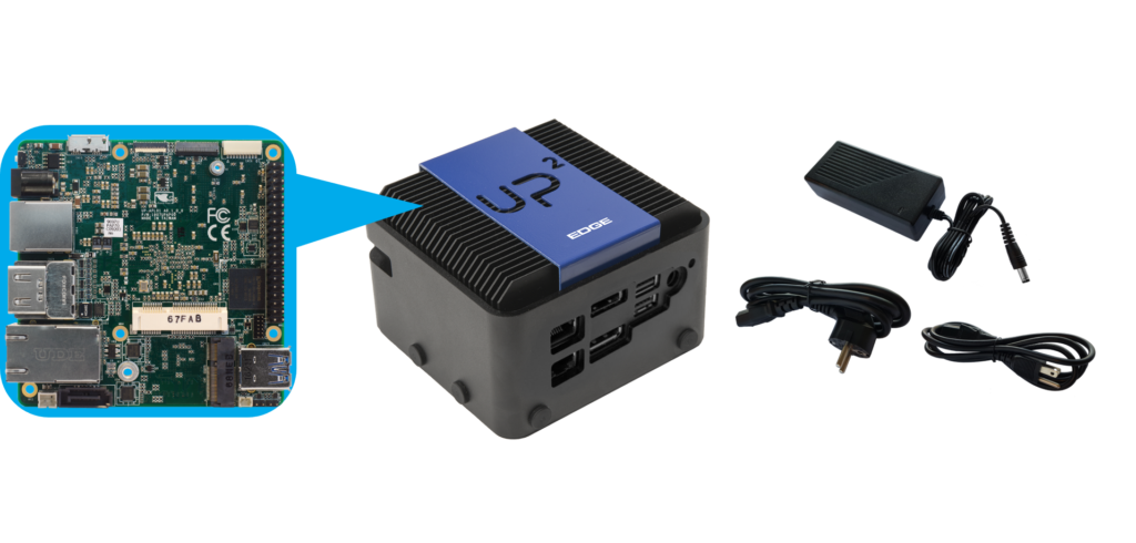 UP Squared Edge System Contents
